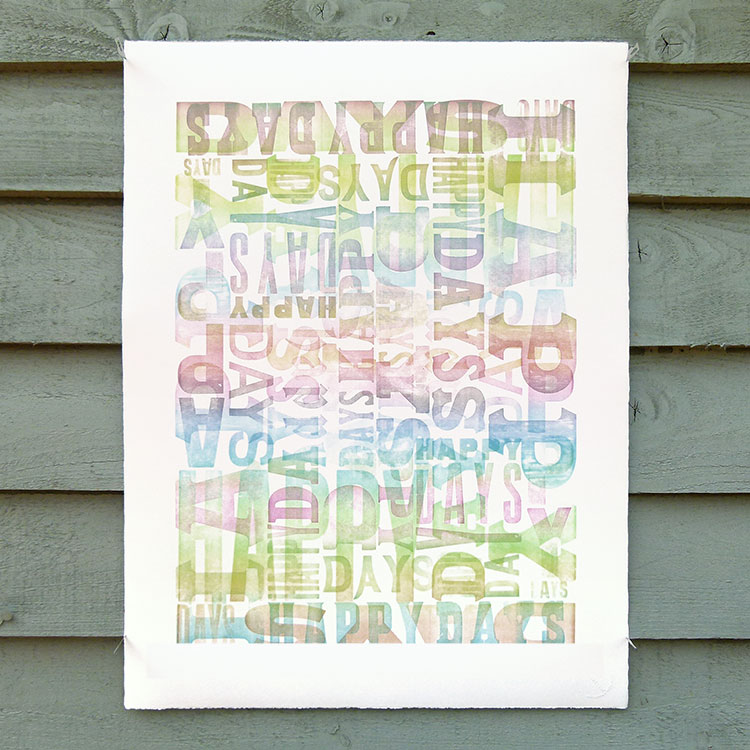 happy_days_wood_type_letterpress_print_750