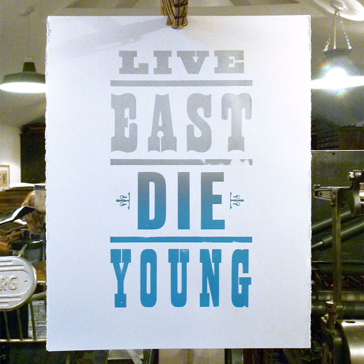 pure_evil_live_east_die_young_wood_type_poster_750