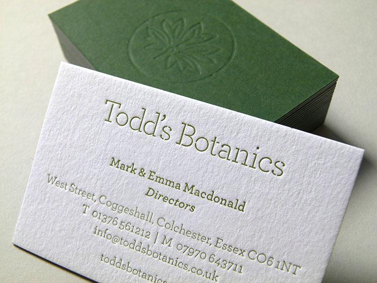 todds_botanics_letterpress_business_cards_front_750