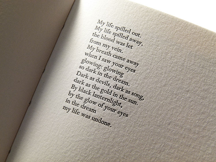 vaughan_pilikian_lyrics_book_letterpress_text_detail_spine_750