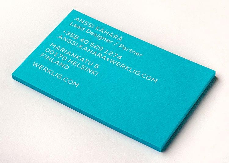 werklig_2014_business_cards_white_foil_colorplan_stack_750