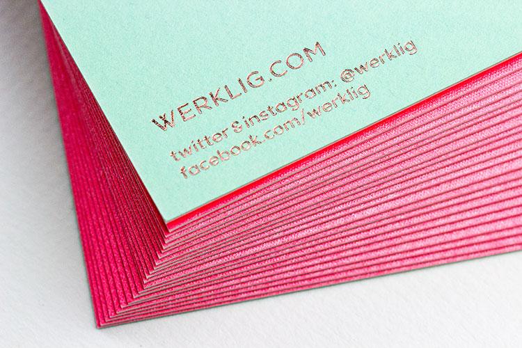 weklig_letterpress_hot_foil_business_cards_pink_backs_750