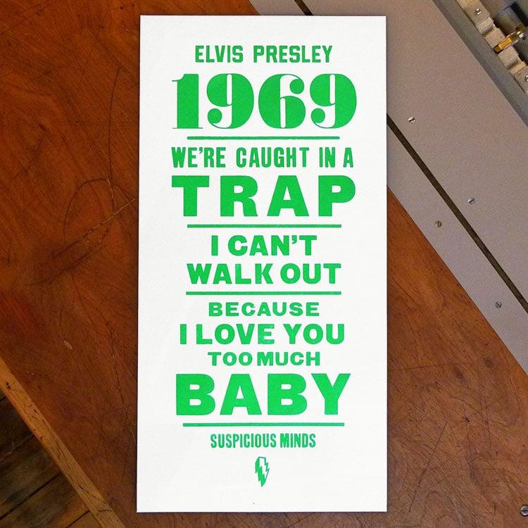Leap_Elvis_1969_poster_wood_type_750