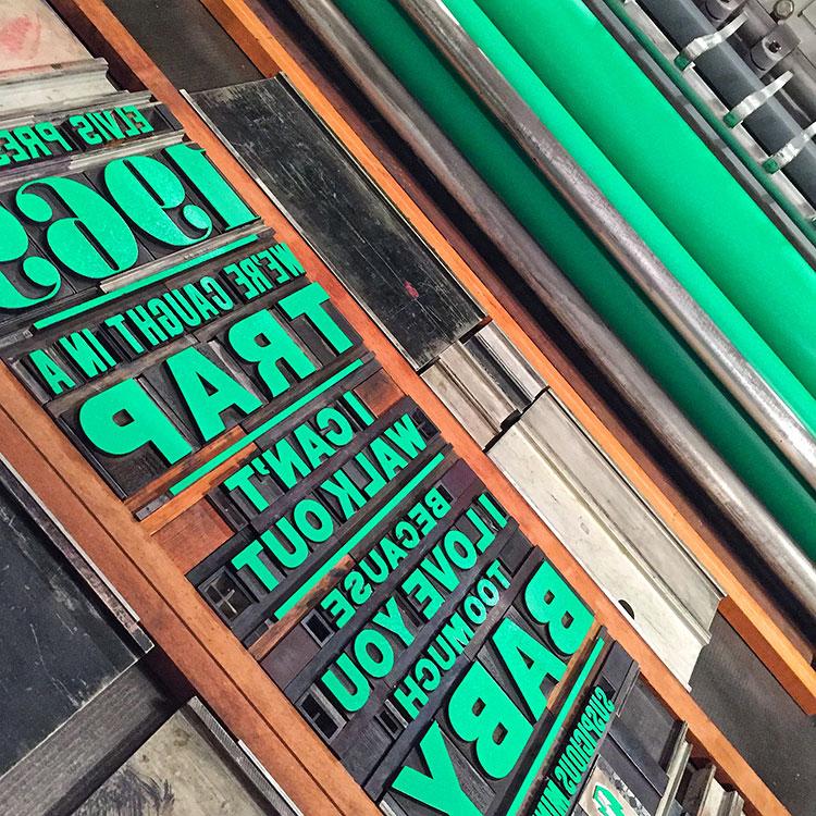 Leap_Elvis_1969_poster_wood_type_printing_750