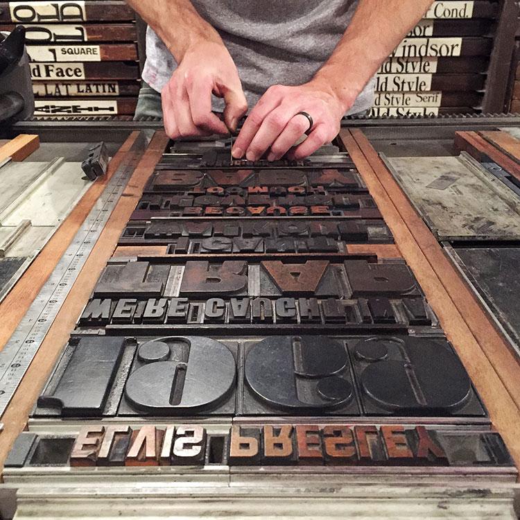 Leap_Elvis_1969_poster_wood_type_typesetting_detail_750