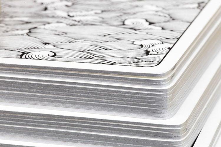 tarot letterpress cards cotton card silver gilt edges macro_750