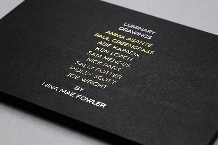 luminary drawings national portrait gallery invitation hot foil front macro_750