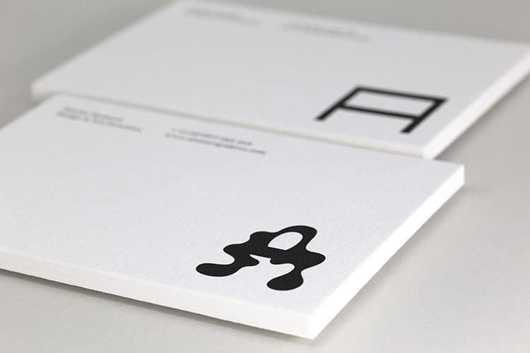 atelier dyakova letterpress postcards wild white stacks-750