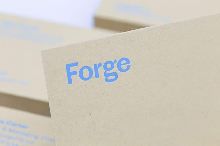 forge business cards hot foil gmund kraft 1_750