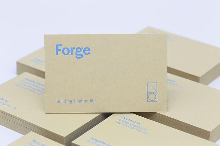 forge business cards hot foil gmund kraft 2_750