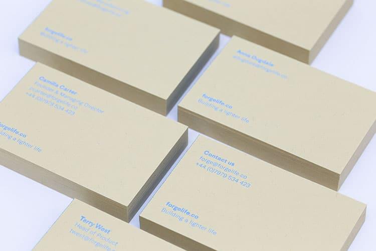 forge business cards hot foil gmund kraft 4_750