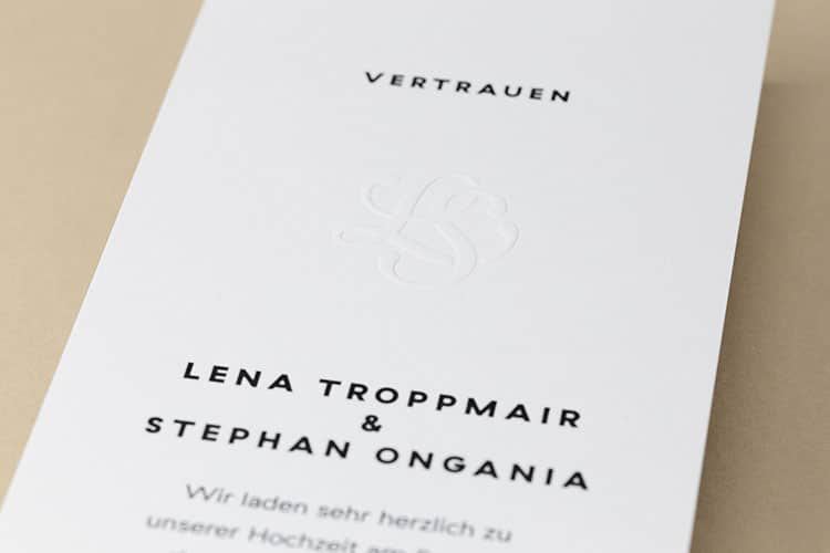 letterpress printed embossed wedding invitation detail_750