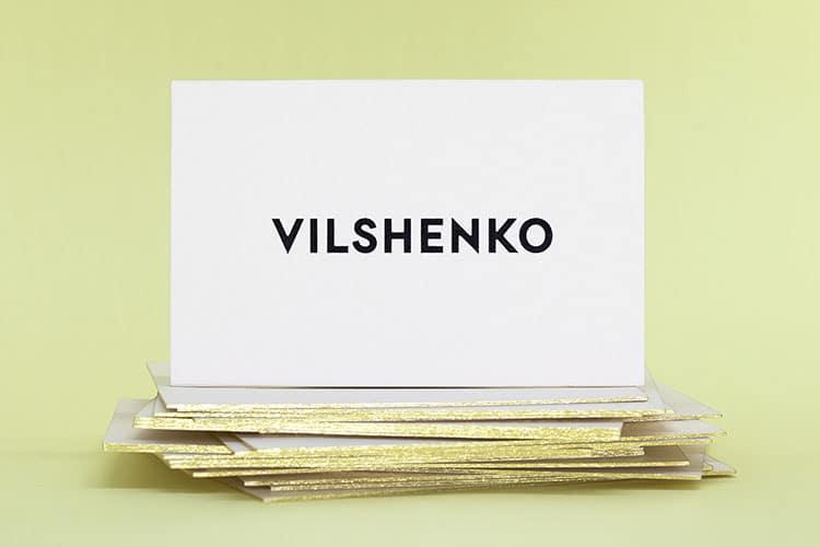 vilshenko foil stamped gold gilt edged business cards-2_750