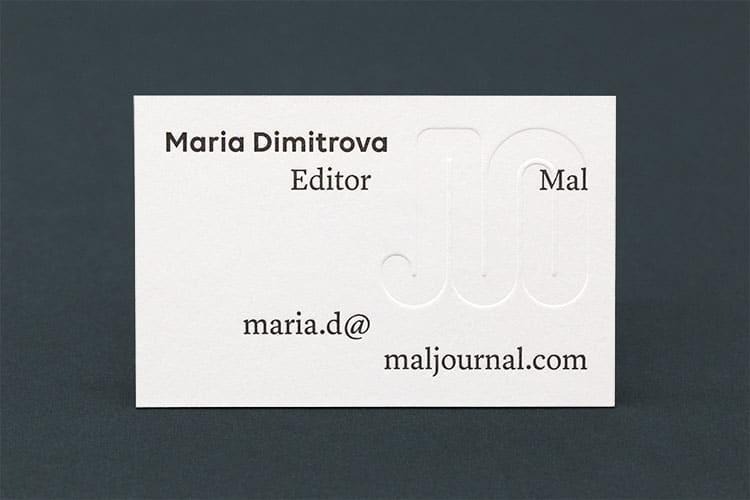 MAL-journal-letterpress-business-cards-blind-emboss-black-ink-white-colorplan-back_750