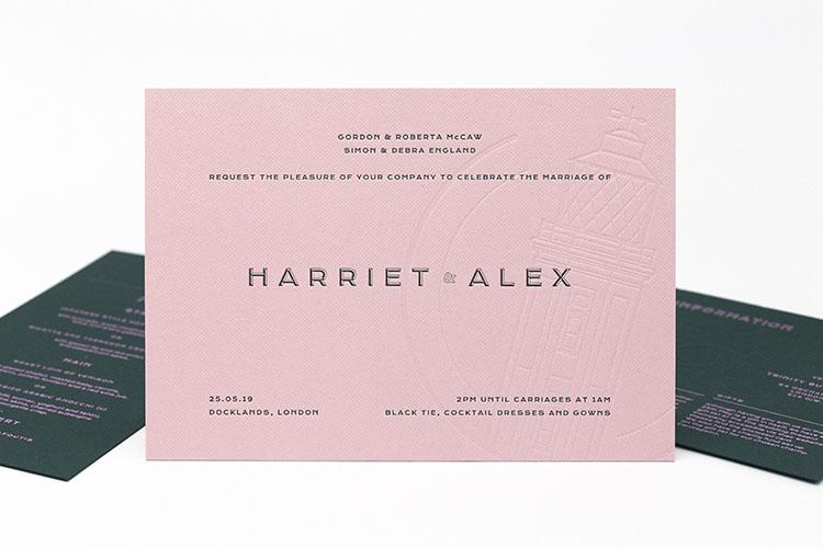 alex england letterpress wedding stationery invitation 750