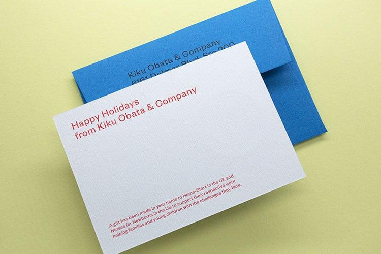 kiku obata letterpress holiday cards back envelope_750