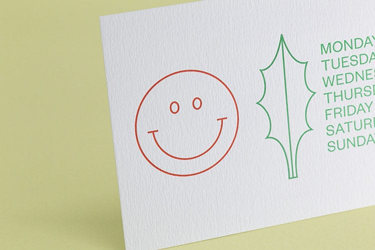 kiku obata letterpress holiday cards detail_750