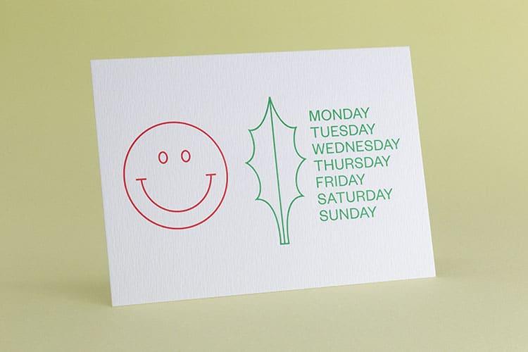 kiku obata letterpress holiday cards_750